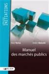 Manuel des marchés publics