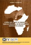 Le rôle que jouent les parlements dans les processus de réconciliation nationale en Afrique