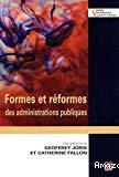 Formes et réformes des administrations publiques