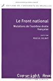 Le Front national : mutations de l'extrême droite française