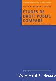 Etudes de droit public comparé
