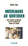 Musulmans au quotidien : une enquête européenne sur les controverses autour de l'islam