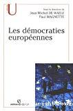 Les démocraties européennes : approche comparée des systèmes politiques nationaux