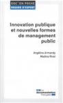 Innovations publiques et nouvelles formes de management