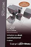 Initiation au droit constitutionnel