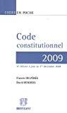 Code constitutionnel 2009