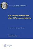 Les valeurs communes dans l'Union européenne