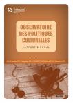 Rapport biennal de l'Observatoire des Politiques Culturelles