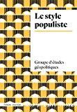 Le style populiste