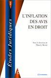 L'inflation des avis en droit