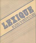 Lexique des termes parlementaires en usage en Belgique, en France et au Québec