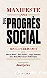 Manifeste pour le progrès social : une meilleure société est possible