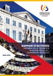 Rapport d'activités du Parlement de la Fédération Wallonie-Bruxelles / Communauté française. Session 2018-2019