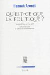 Qu'est-ce que la politique ?