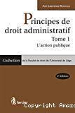 Principes de droit administratif.