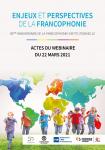 Enjeux et perspectives de la Francophonie