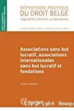 Associations sans but lucratif, associations internationales sans but lucratif et fondations