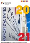 Rapport d'activités du Parlement de la Fédération Wallonie-Bruxelles/Communauté française (2020-2021)