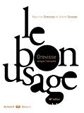 Le bon usage : Grevisse, langue française