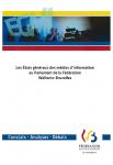 Les Etats généraux des médias d'information au Parlement de la Fédération Wallonie-Bruxelles : constats, analyses, débats.