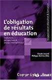 L'obligation de résultats en éducation : évolutions, perspectives et enjeux internationaux