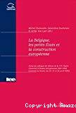 La Belgique, les petits Etats et la construction européenne : actes du colloque de clôture de la VIIe Chaire Glaverbel d'études européennes 2001-2002 (Louvain-la-Neuve les 24, 25 et 26 avril 2002)