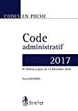 Code administratif 2017