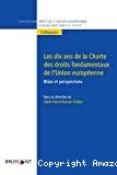 Les Dix ans de la Charte de droits fondamentaux de l'Union européenne