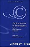 Droit d'auteur et numérique : logiciels, bases de données et multimédias. Droit belge, européen et comparé.