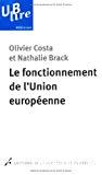 Le fonctionnement de l'Union européenne