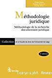 Méthodologie juridique : méthodologie de la recherche documentaire juridique