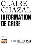 Information de crise