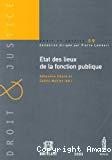 Etat des lieux de la fonction publique : actes de la matinée d'études, Bruxelles, le 6 mai 2004