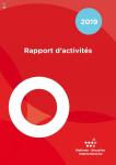 Rapport d'activités Wallonie-Bruxelles International (WBI) pour l'année 2019