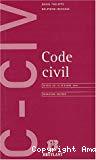 Code civil. Textes au 15 octobre 2003.