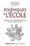 Polémiques à l'école : perspectives internationales sur le lien social