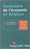 Vocabulaire de l'économie en Belgique