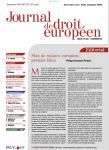 Le principe de l'État de droit dans l'Union européenne
