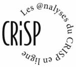 Les analyses du CRISP en ligne
