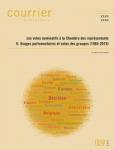 Les votes nominatifs à la Chambre des représentants. II Usages parlementaires et votes des groupes (1995-2019)