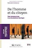 De l'homme et du citoyen : une introduction à la philosophie politique
