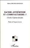 Racisme, antisémitisme et communautarisme ? : l'école à l'épreuve des faits