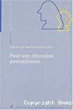 Pour une éducation postnationale