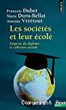 Les sociétés et leur école : emprise du diplôme et cohésion sociale