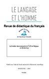 La formation des enseignants de FLE-S en Belgique : un état des lieux