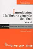 Introduction à la théorie générale de l'Etat : manuel