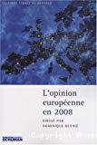L'opinion européenne en 2008