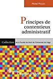 Principes de contentieux administratif