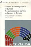 Extrême droite et pouvoir en Europe = The extreme right parties and power in Europe