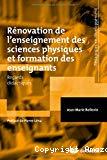 Rénovation de l'enseignement des sciences physiques et formation des enseignants : regards didactiques